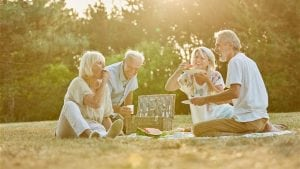 Eating right and staying healthy in retirement
