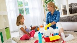 3 warm-weather home cleaning tips