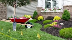 Call 811 before digging for home improvement projects and landscaping this spring