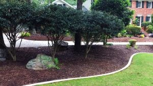 Add curb appeal with a concrete lawn border