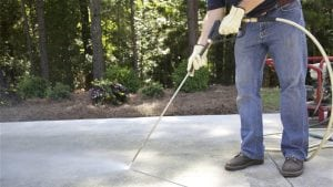 Backyard Entertainment Starts with Clean Concrete