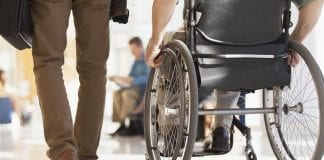 Wheelchair damage is a frequent risk for disabled travelers