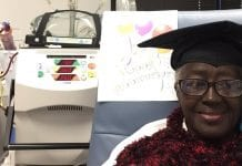 How home dialysis impacted one woman's quality of life