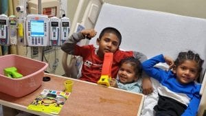 Siblings: Helping them cope with childhood cancer