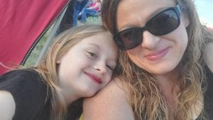 Young mom doesn't let MS get in the way of living her life